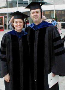 Aimee Eggler (1998-2003) and Mike Cox