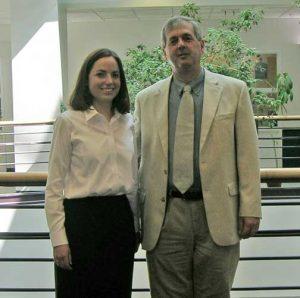 Julie Eggington (2001-2006) and Mike Cox
