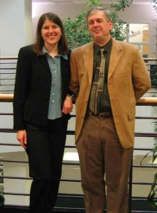 Julia Drees (2001-2006) and Mike Cox