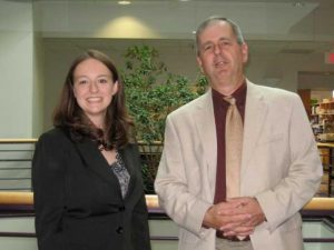Rachel Britt (2005-2010) and Mike Cox