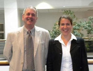 Marielle Gruenig (2006-2010) and Mike Cox