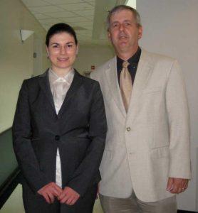 Vessela Petrova (2005-2010) and Mike Cox