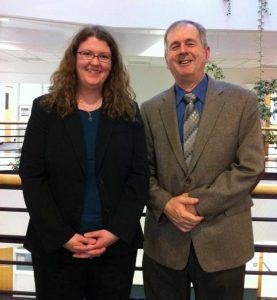 Audrey Klingele (2006-2011) and Mike Cox