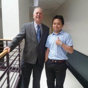 TaeJin Kim (2010-2015) and Mike Cox