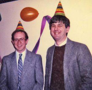 Scott Morrical (1982-1987) and Mike Cox