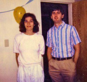 Julie Senecoff (1982-1987) and Mike Cox