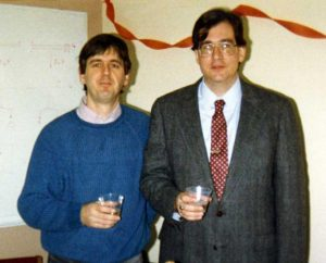 Rob Bruckner (1982-1988) and Mike Cox