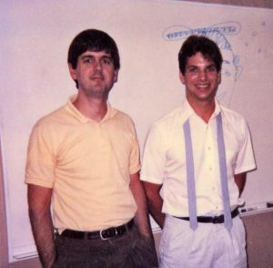 Frank Pugh (1983-1988) and Mike Cox