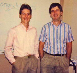 Brian Schutte (1983-1988) and Mike Cox