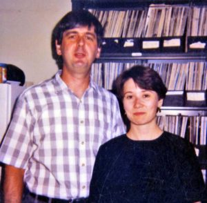 Janet Lindsley (1984-1989) and Mike Cox