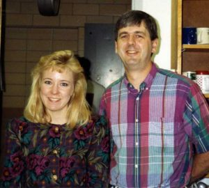 Wendy Bedale (1987-1992) and Mike Cox