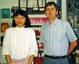 Li-chun Huang (1988-1992) and Mike Cox