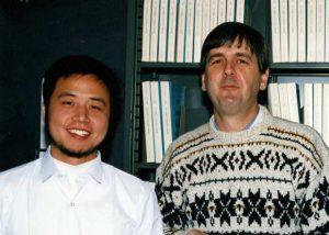 Xiao-Jong Qlan (1987-1995) and Mike Cox