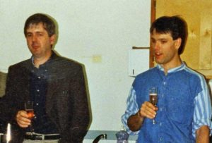 Paul Marrione (1991-1996) and Mike Cox