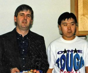 Qun Shan (1992-1996) and Mike Cox