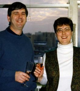 Leslie Waite (1988-1996) and Mike Cox