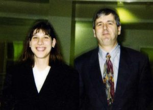 Tanya Arenson (1993-1998) and Mike Cox