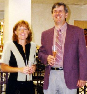 Julie Bork (1993-1999) and Mike Cox