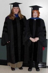 Shelley Lusetti (1998-2002) and Karen Clise-Dwyer
