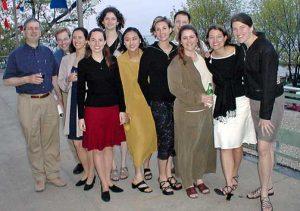 Aimee Eggler's Ph.D. celebration