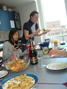 Asher Page's prelim celebration 2009