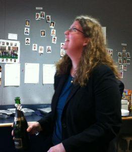Audrey Klingele's thesis defense party 2011