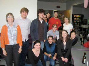 Rachel Britt's thesis defense party May 2010