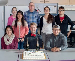 2018 Cox group with cake