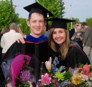 D Harris and J Cox graduation 2007
