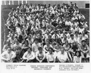 1981 Gordon Conference