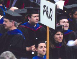 Graduation crowd 2006