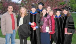 2006 Grads with family and friends