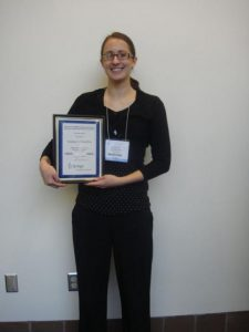 L. Hamilton's poster award ASBMB