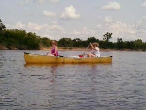 Wisconsin River canoe trip July 2014