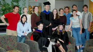 Graduation lab gathering 2007