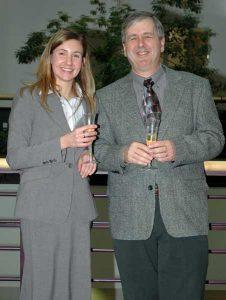 Julia Cox and Mike Cox 2007