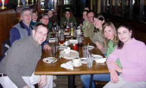 Group lunch 2006