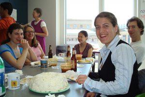 Marielle Gruenig at her prelim celebration 2008