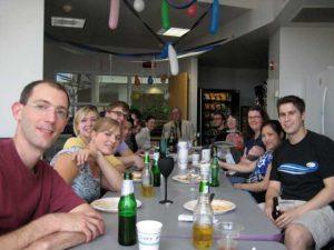 Vessela Petrova's thesis defense party - June 2010