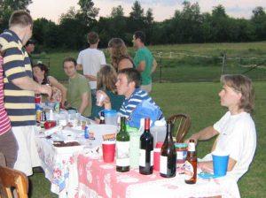 Shelley Lusetti goodbye picnic